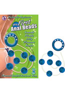 My First Anal Beads Blue