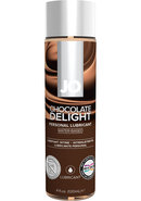 Jo H2o Water Based Flavored Lubricant Chocolate Delight 4oz