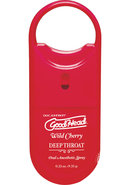 Goodhead Deep Throat To-go Oral Anesthetic Spray Cherry...
