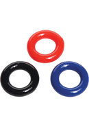 Trinity Vibes Stretchy Cock Ring 3 Pack