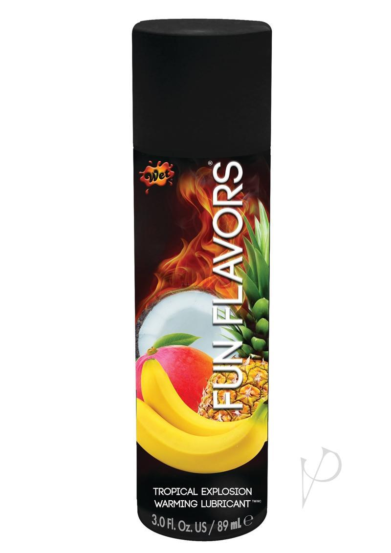 Wet Fun Flavors Tropical Explosion Warming Lube 3 Ounces