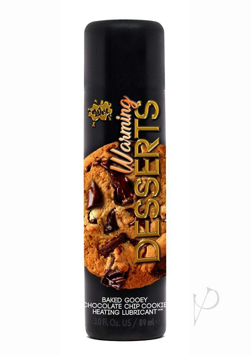 Warming Desserts Chocolate Chip 3oz Water Based Lube